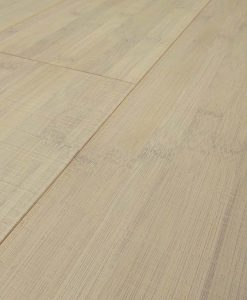 Bamboo flooring Horizontal Bleached Thermo - Sawn Marked