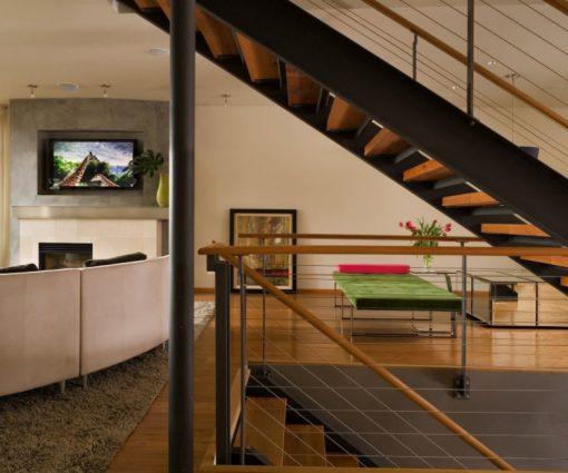 Horizontal carbonized bamboo flooring 2