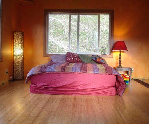 Horizontal carbonized bamboo flooring 4