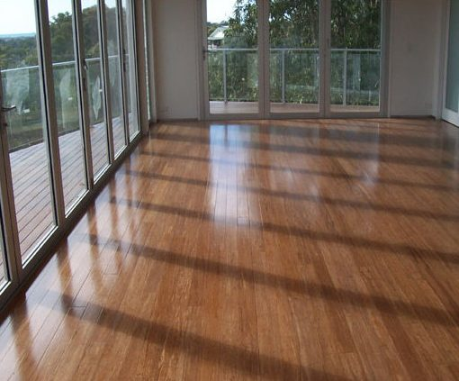 Carbonized Strand Bamboo Flooring Prefinished Wide Plank