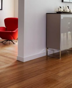 Vertical carbonized bamboo flooring 3