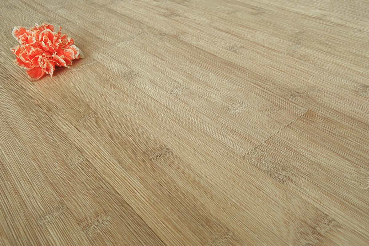 Bleached Carbonized Smooth Horizontal Bamboo Flooring 43