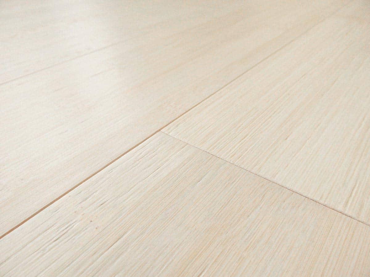Bamboo Hardwood Flooring Bleached Horizontal Plank
