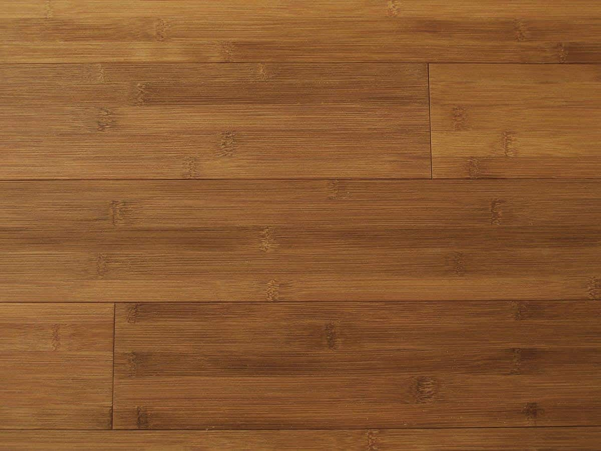 Bamboo Hardwood Flooring Carbonized Horizontal Plank