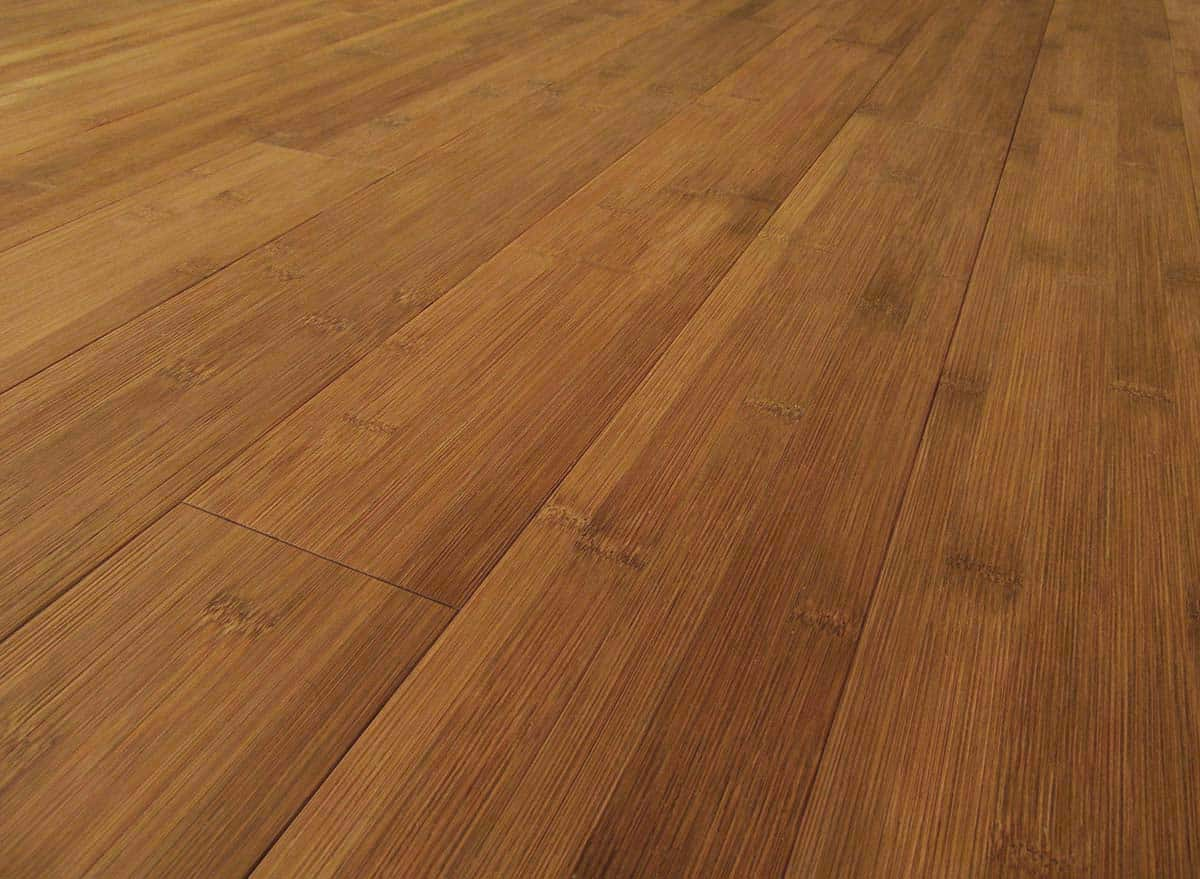Bamboo hardwood flooring carbonized horizontal plank for Eco bamboo flooring