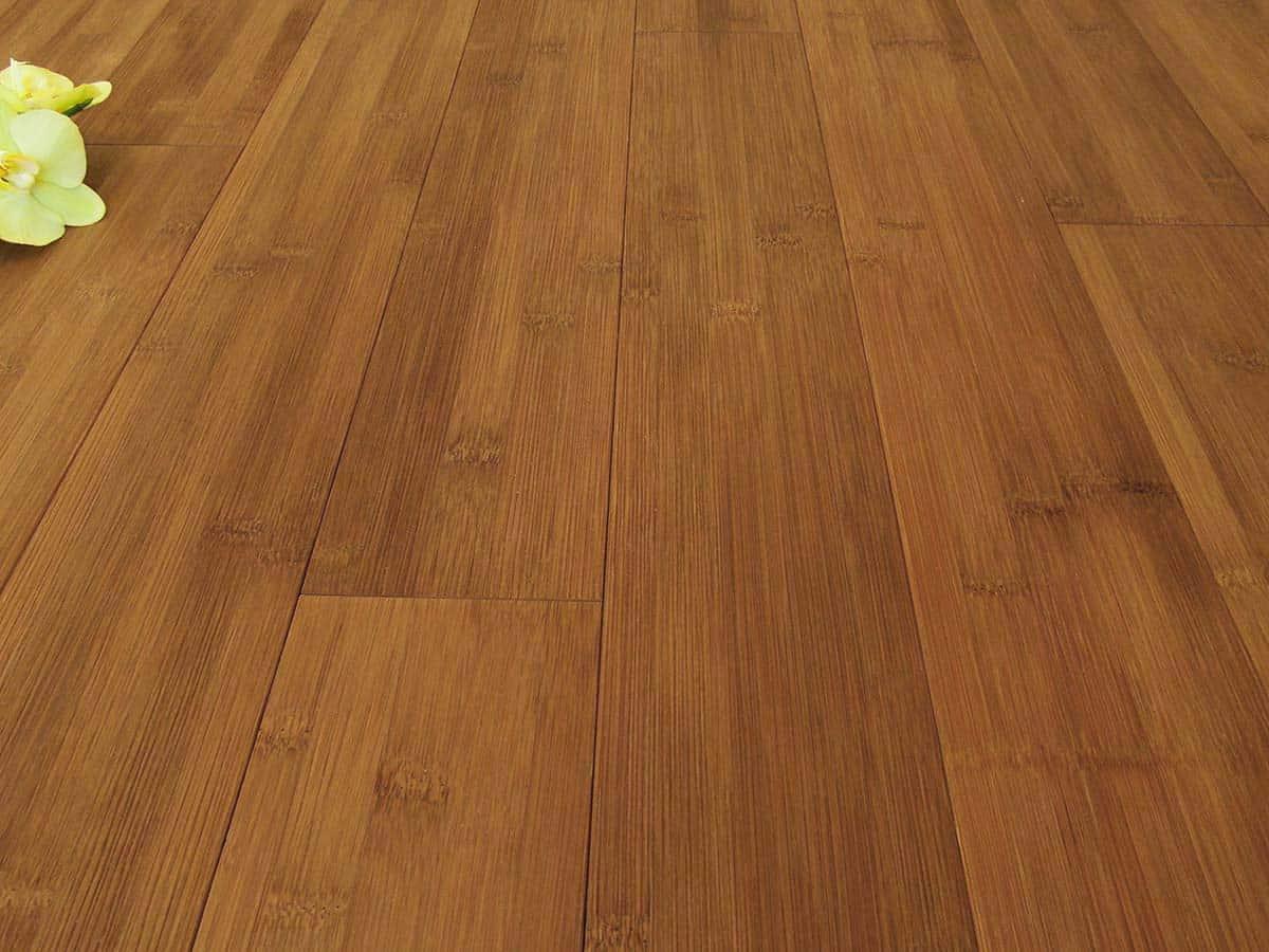 Bamboo Hardwood Flooring Carbonized Horizontal Plank