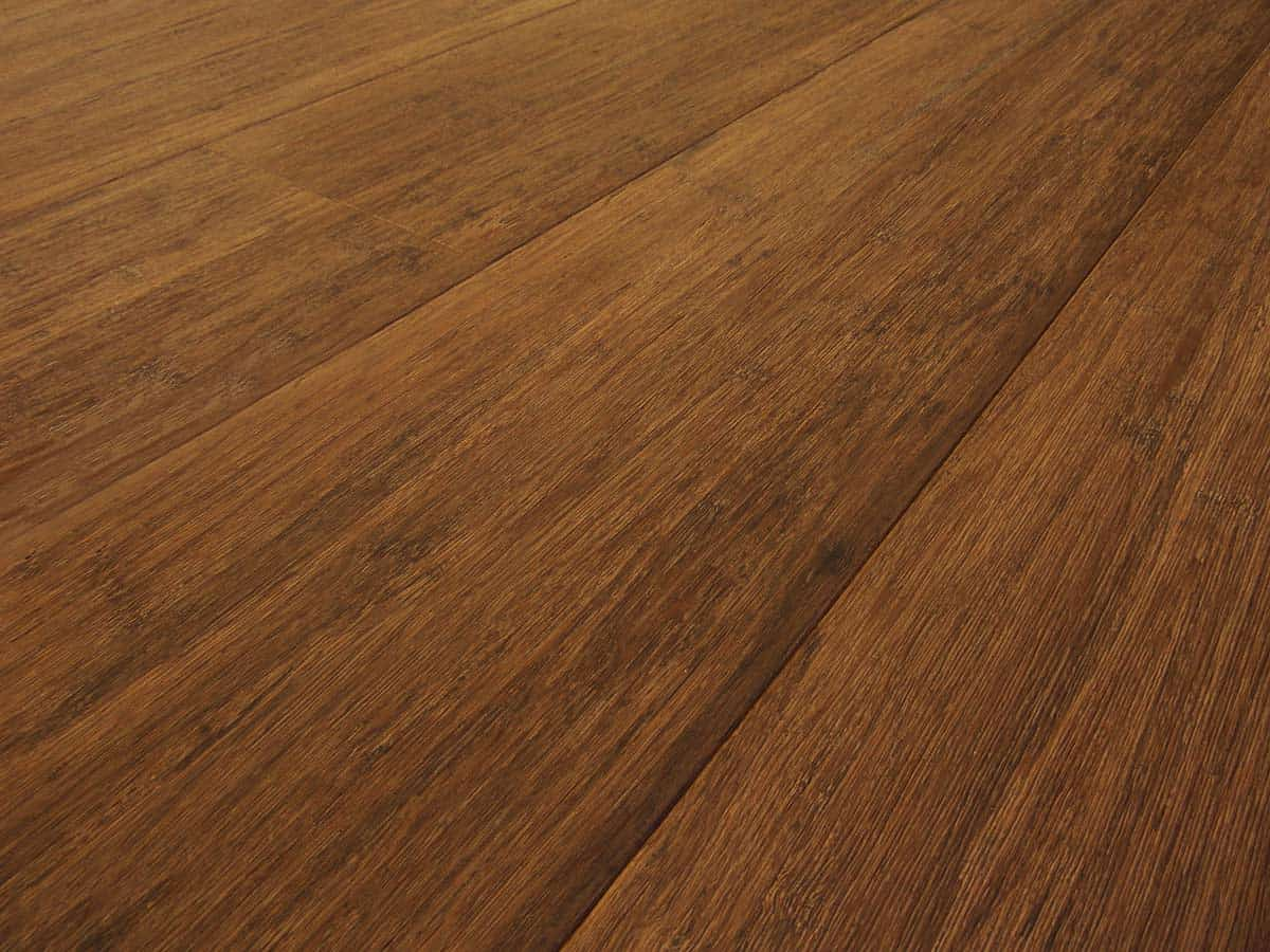 Engineered Strand Woven Bamboo Flooring Walnut Wide Plank
