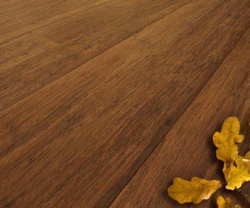 Engineered Strand Woven Bamboo Flooring Walnut Wide Plank