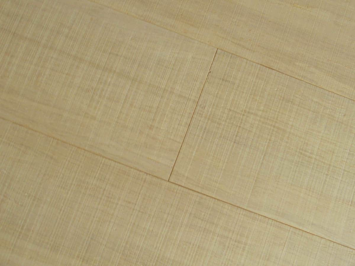 Engineered Strand Woven Bamboo Flooring Bleached Wide Plank