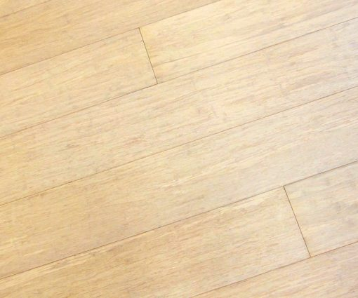 Bleached Strand Woven Bamboo Flooring: Prefinished Wide Plank