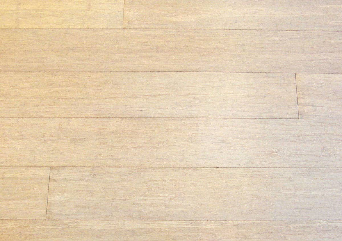 Bleached Strand Woven Bamboo Flooring Prefinished Wide Plank