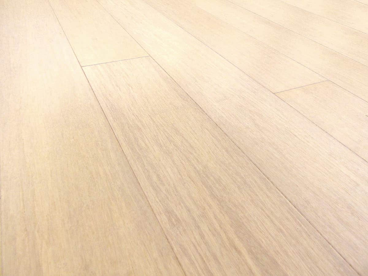 Bleached strand woven bamboo flooring prefinished wide plank for Benefits of bamboo flooring