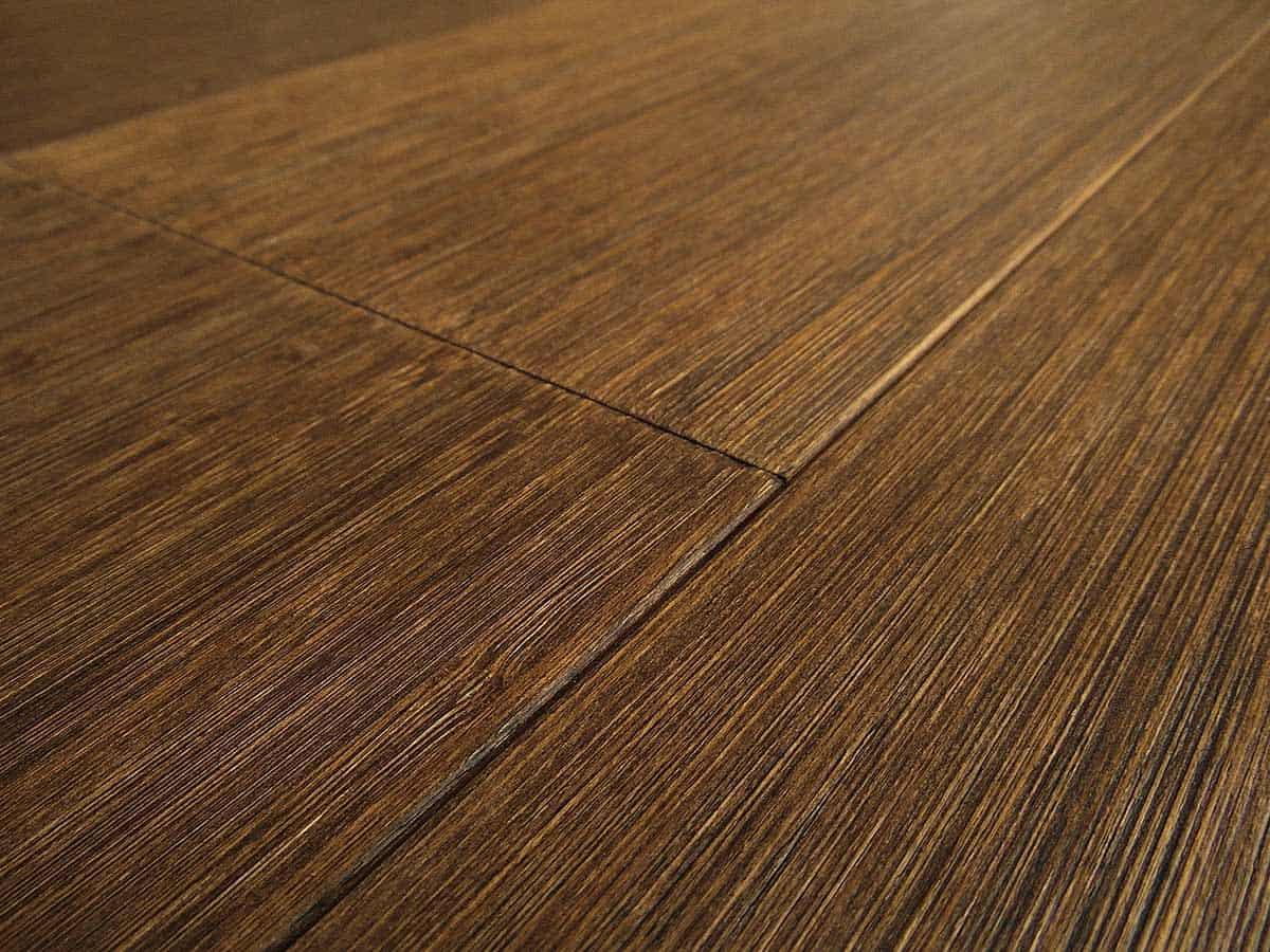 2 Ply Bamboo Wood Flooring Vertical Teak Wide Plank Italian