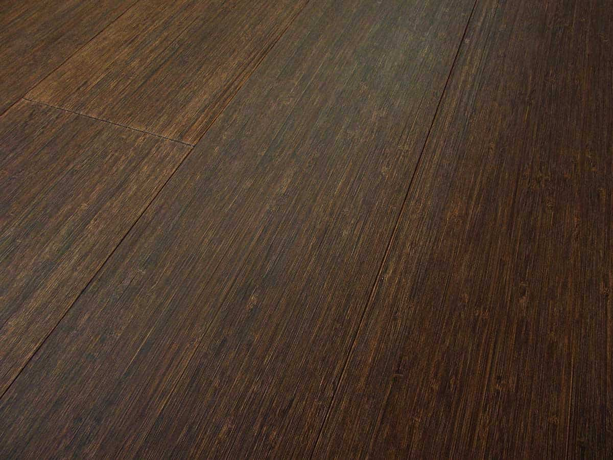 2 Ply Wood Bamboo Flooring Vertical Wenge Wide Plank Italy